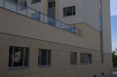 Szyby zespolone - Szpital Dziecięcy w Bygoszczy